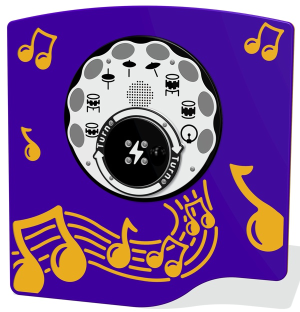 Rotogen Drums Musical Play Panels