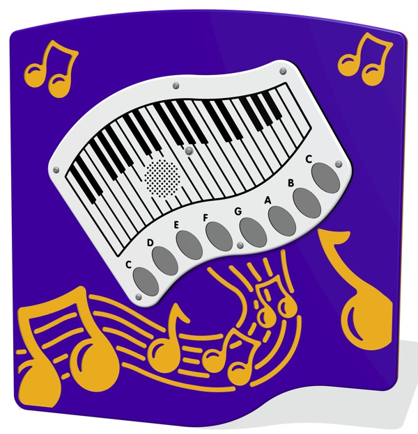 PlayTronic Touch Piano Musical Play Panel