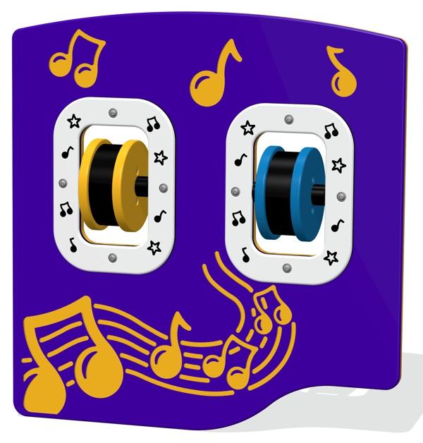 Spin Maracas Musical Panel