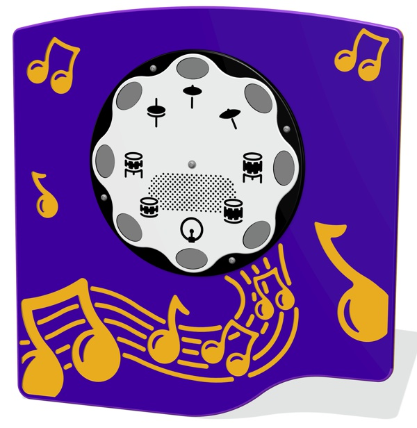 PlayTronic Drums Musical Panel