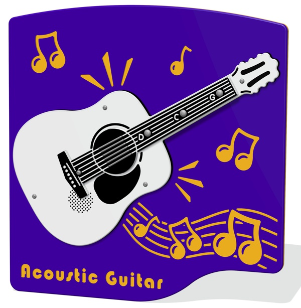 PlayTronic Acoustic Guitar Musical Panel
