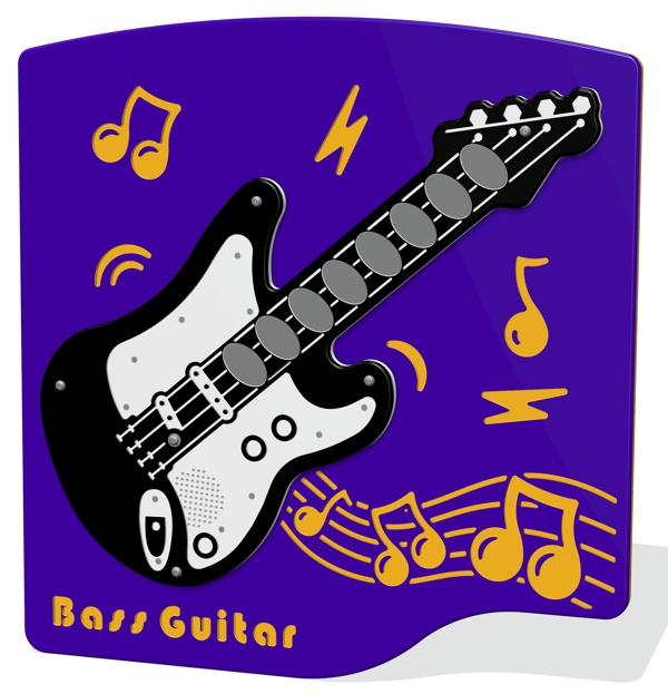 PlayTronic Bass Guitar Musical Panel