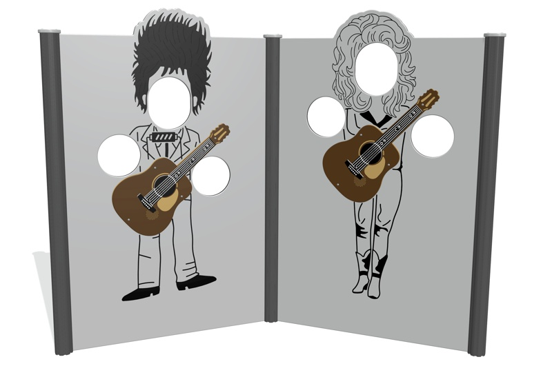Bob and Dolly Photo Opportunity Panels