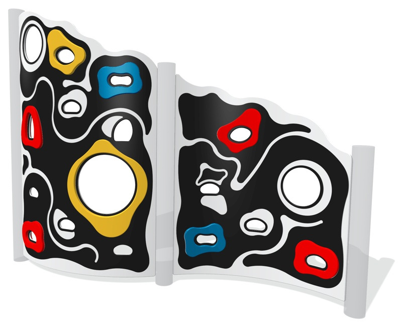Curved Extreme Climbing Wall (set of 2)