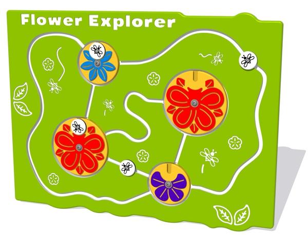 Flower Explorer Play Panel