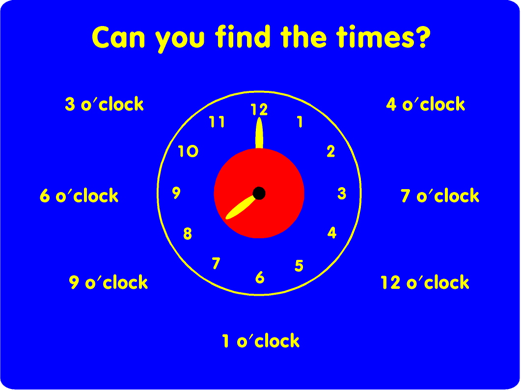 Can You Find The Time