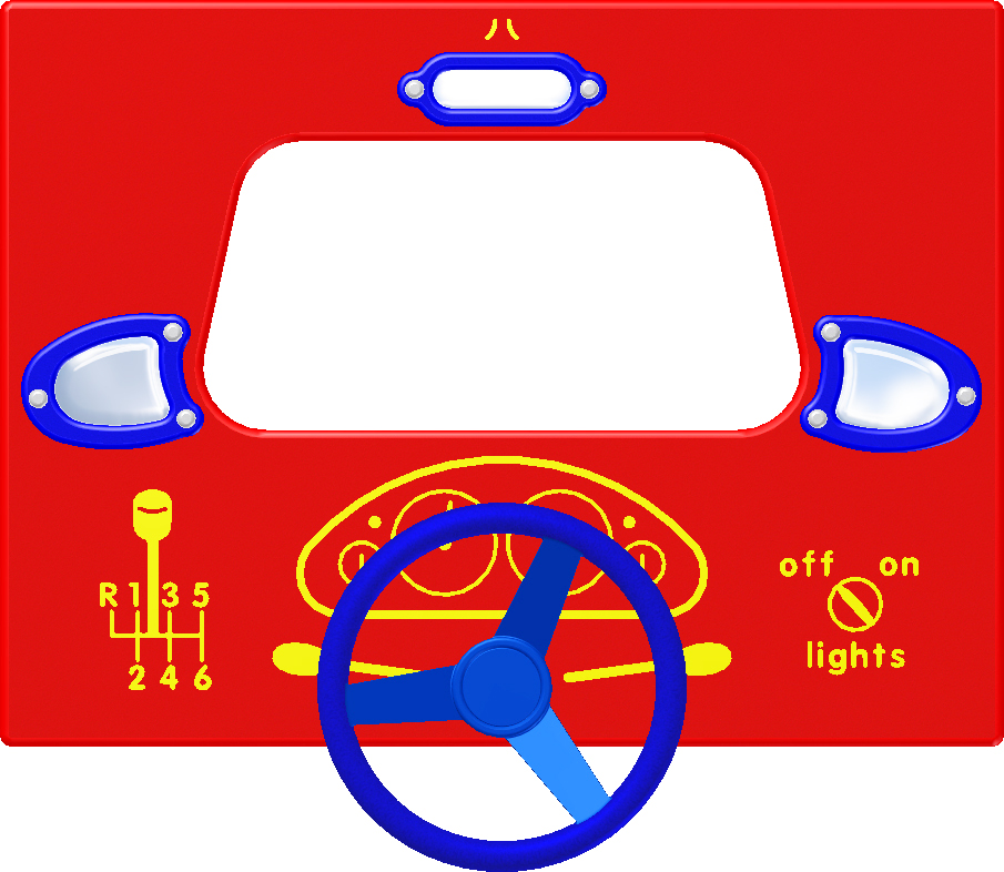 Driving Panel With Mirrors