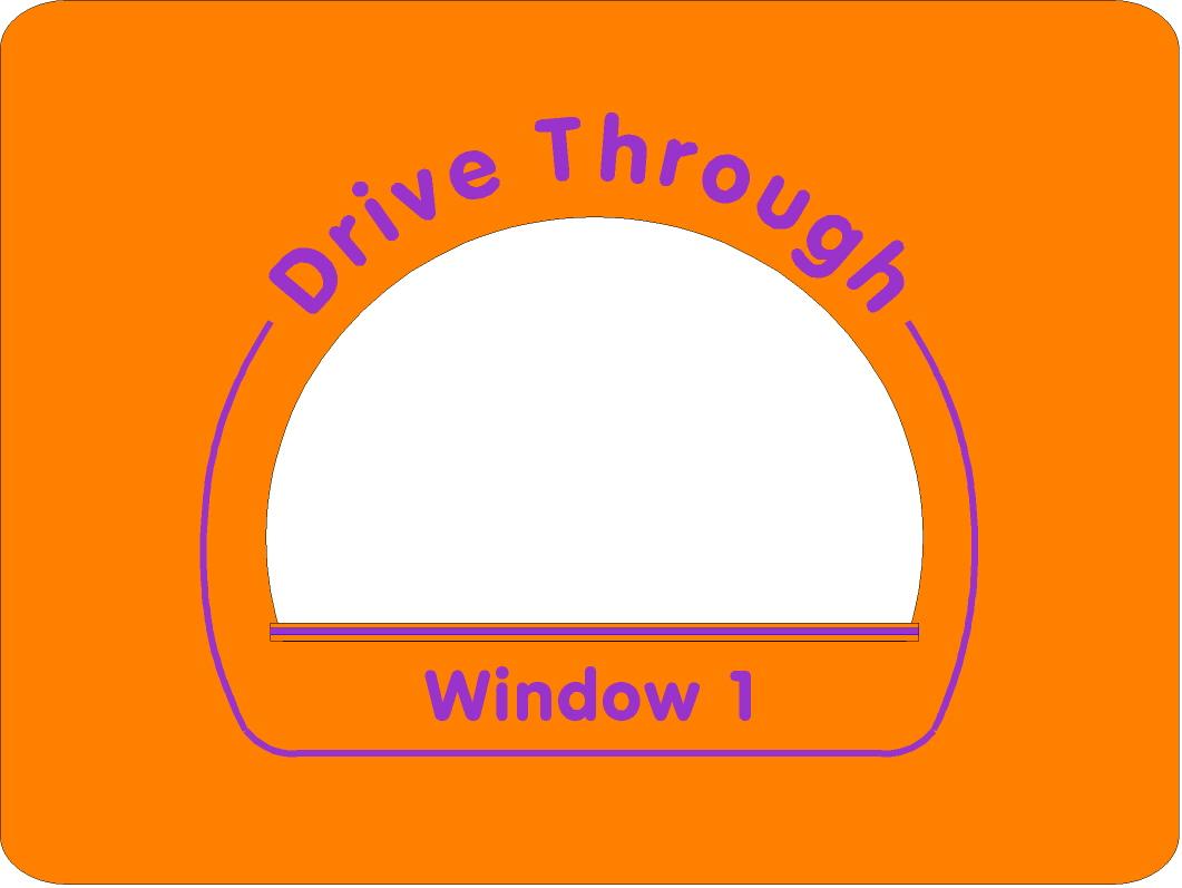 Drive Through Panel