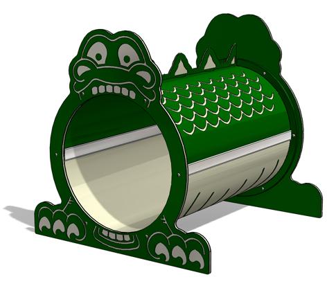 Dinosaur Freestanding Tunnel