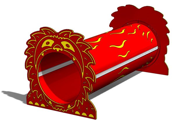 Lion Freestanding Tunnel