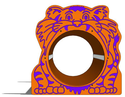 Tiger Freestanding Tunnel