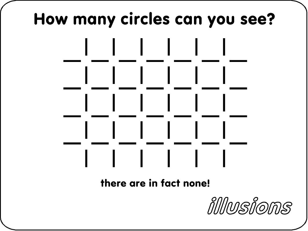 Illusion Invisible Circles