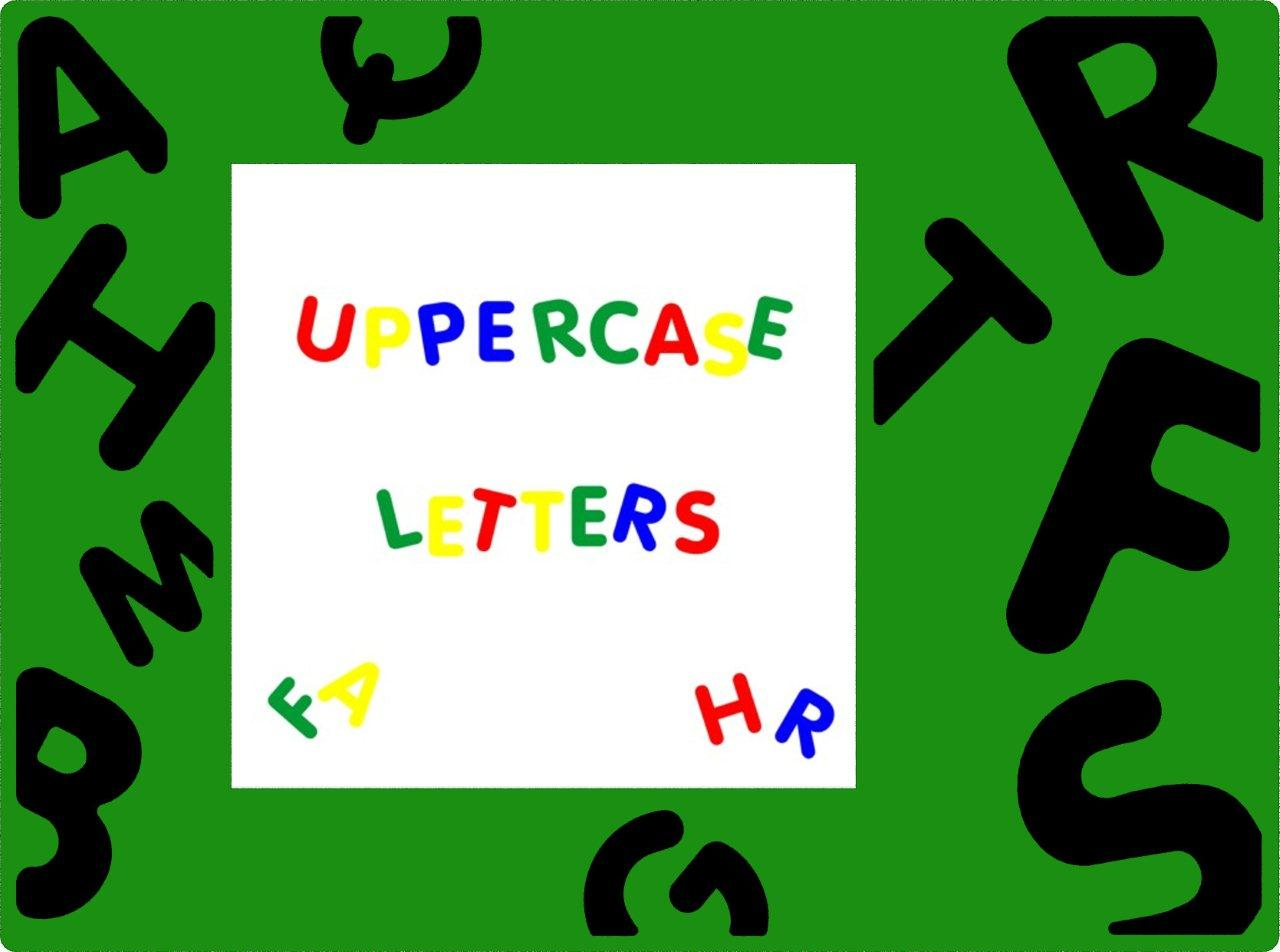MagPlay Uppercase Letters
