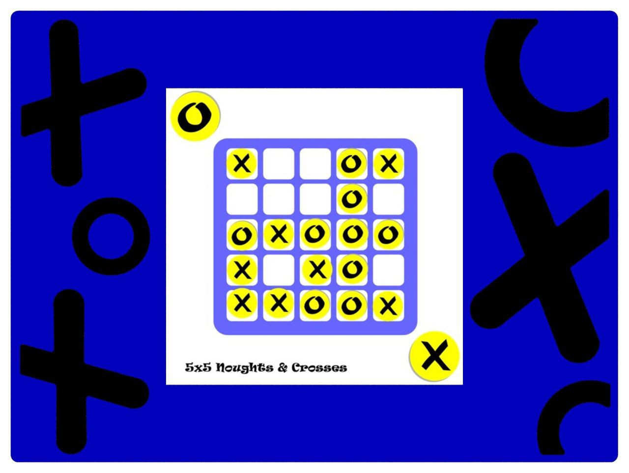 Magplay 5x5 Noughts & Crosses