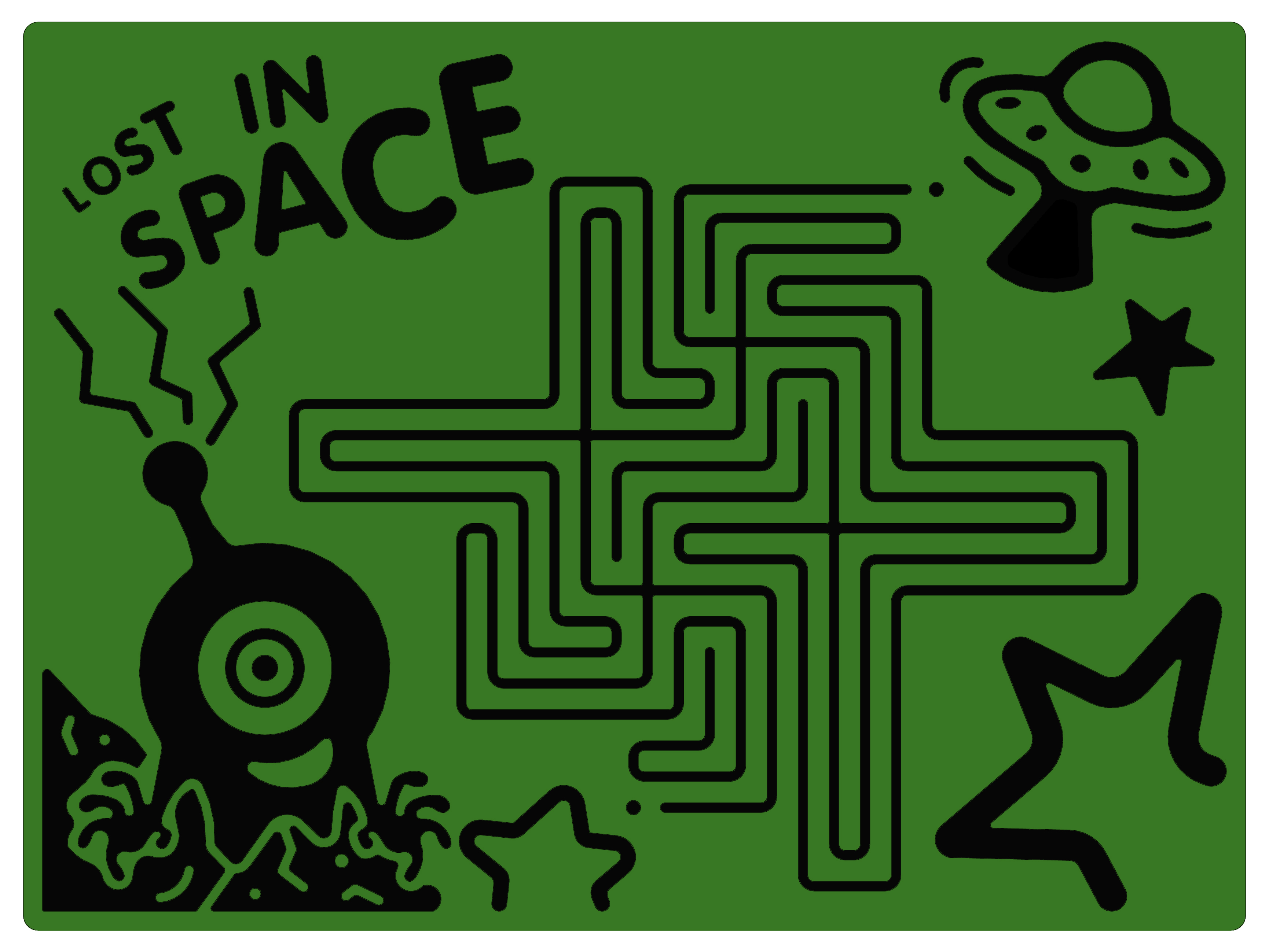 Lost In Space Maze